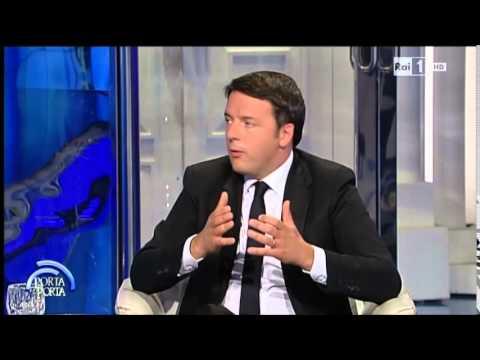 Intervista al premier Matteo Renzi - Porta a porta 19/05/2015