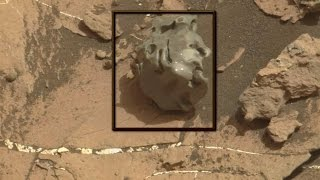 "Meteorite on Mars Dubbed ""Egg Rock"""