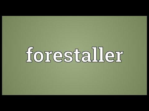 Header of forestaller