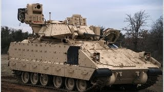 Raytheon - BattleGuard® Remote Weapon Station Mounted On M2A3 Bradley IFV [720p]