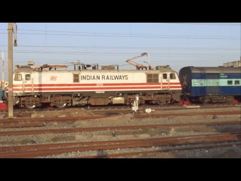 Offlink- Ranakpur Express With Brc Wap5 Takes A Brilliant Pickup!!!