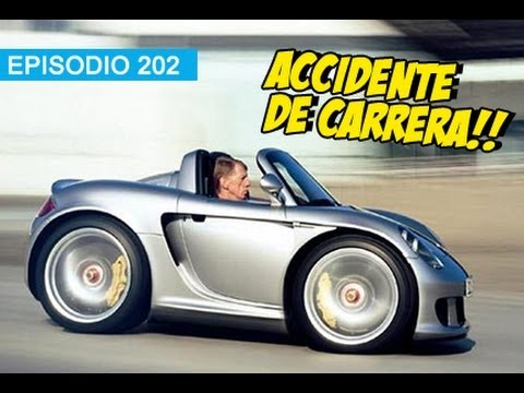 Accidente de Carrera!!! l whatdafaqshow.com