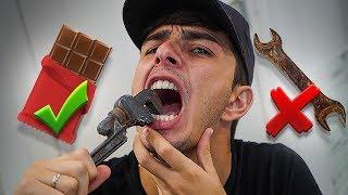 ISSO É REAL OU CHOCOLATE?!