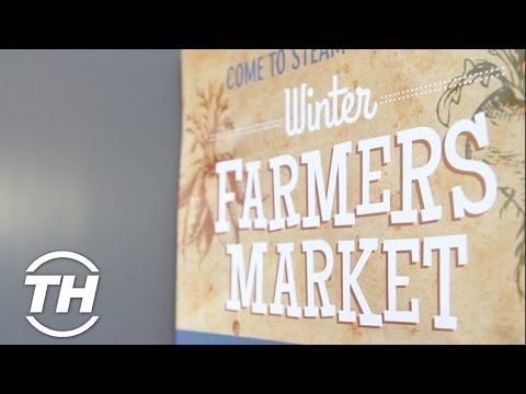 Winter Farmers Market at Steam Whistle Brewery