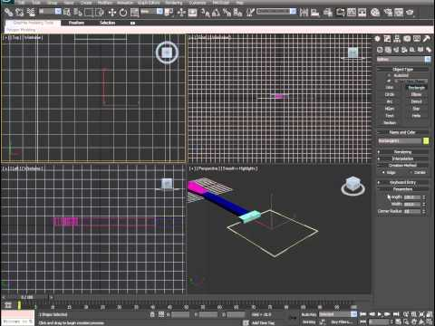 3ds Max Quickies - Kitchen Stuff part 2 - spatula