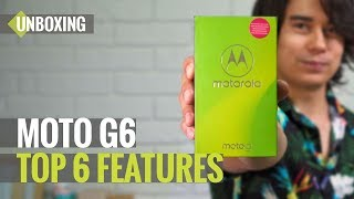Moto G6 Unboxing: Top 6 Features