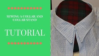 Tutorial: How to Sew A Collar And Collar Stand