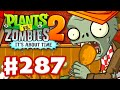 Plants vs. Zombies 2: It's About Time - Gameplay Walkthrough Part 287 - Food Fight! (iOS)