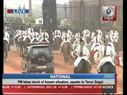 25 July, 2012 - Pranab Mukherjee takes oath as India's 13th President