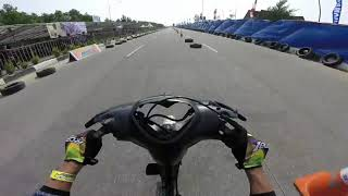#336 Rio Jangkrik | Jupiter Z | Bebek 4T Std 116cc Lokal Kepri | Drag Bike Kapolres Karimun Cup 2018