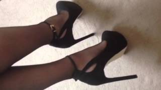 Christmas party heels