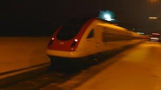 Snow Train Deep Inside - Awesome Electric Arcs