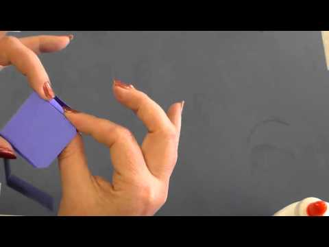 how to make 3d cuboid with paper