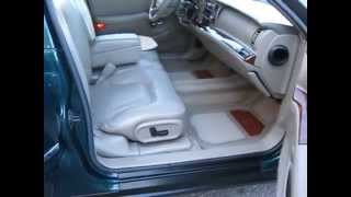 1998 Buick Park Avenue $4877-LOW MILES 104k, Rare Color Combo- Candy Apple Green with a Khaki RagTop