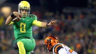 Marcus Mariota vs Oregon State (2014)