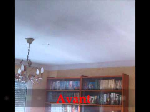 comment poser un plafond tendu youtube. Black Bedroom Furniture Sets. Home Design Ideas