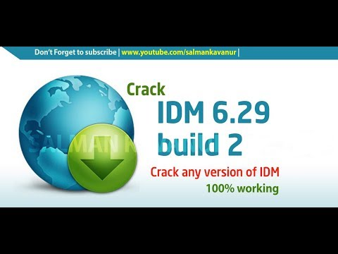 IDM 6.29 Build 2 Lifetime Activation 2017 100% Working✓| Latest Version | Full Patch, Crack |