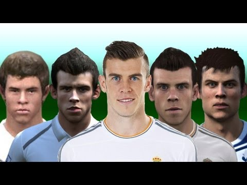 Gareth Bale From FIFA 07 to 14
