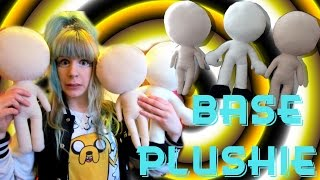 TUTORIAL: How to make a base plushie-anime/human/game character, chibistyles- Cloctor Creations