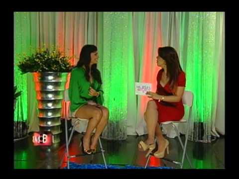 Mujeres Al Borde TV: Miss Republica Dominicana Dalia Fernández - Parte 1/4