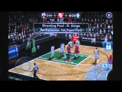 NBA 2K12 iPhone Gameplay Review - AppSpy.com
