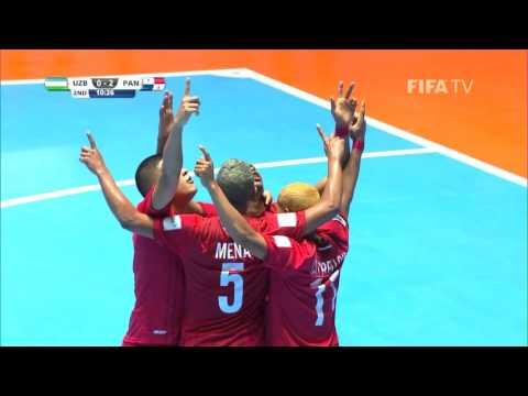 Match 2: Uzbekistan v Panama - FIFA Futsal World Cup 2016