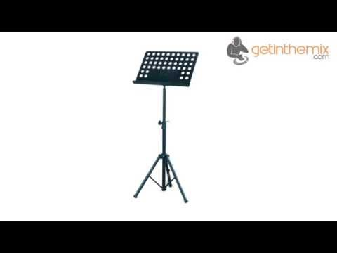 Sheet Music Stand Plans