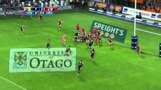 Highlanders v Crusaders Rd.2 2015 | Super Rugby Video Highlights