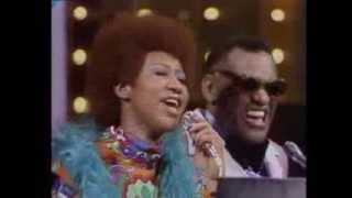 Ray Charles & w/Aretha Franklin - Georgia On My Mind & It Takes Two to Tango