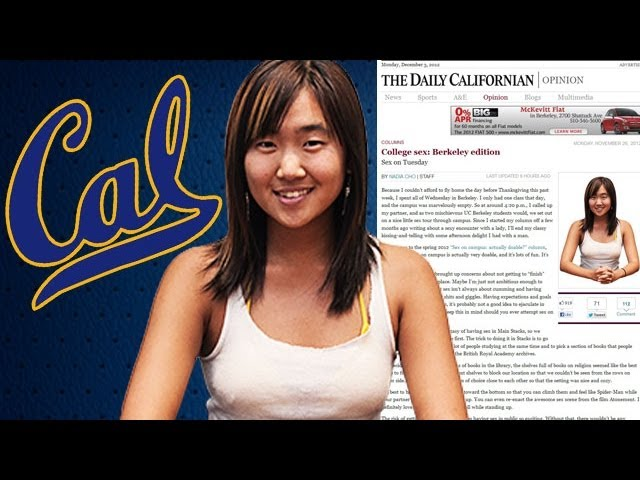 Nadia Cho: Shock as UC Berkeley student has sex in campus library