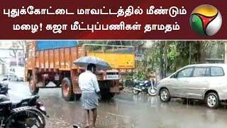 புதுக்கோட்டை மாவட்டத்தில் மீண்டும் மழை! கஜா மீட்புப்பணிகள் தாமதம்   #GajaCyclone #Rain