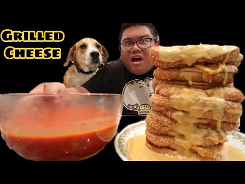 Massive Grilled Cheese & Tomato Soup