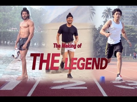 "Bhaag Milkha Bhaag – The Making of ""THE LEGEND"" video feat Farhan Akhtar."