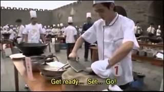 WATCH Speed Cooking  serving live snake and fish