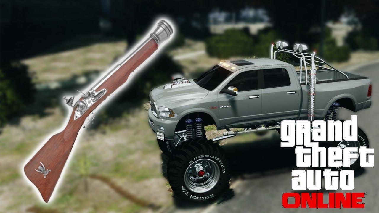 how to buy a monster truck in gta 5 offline