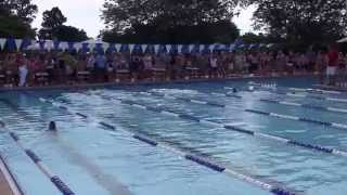 8U Girls League Record Breaking Medley Relay