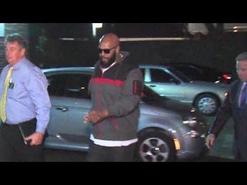 Rap's Suge Knight arrested on suspicion of murder