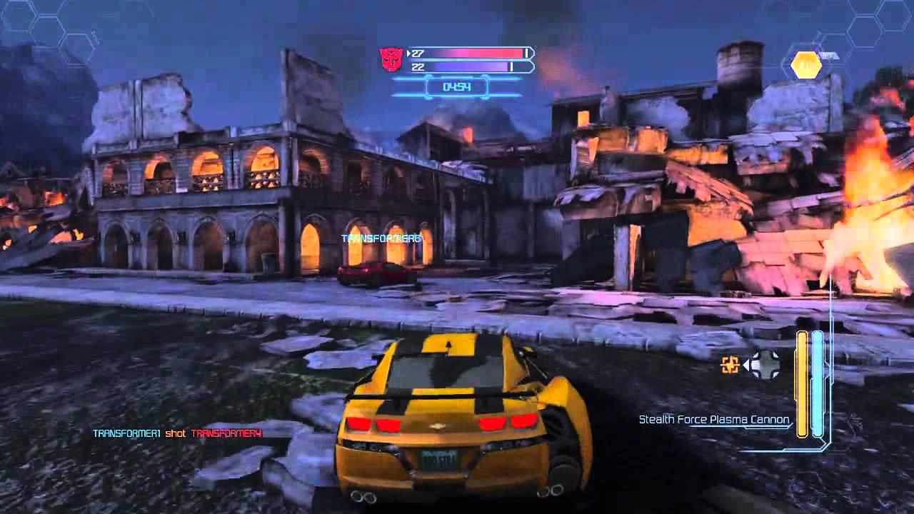 Transformers Dark Of The Moon Bumblebee Multiplayer