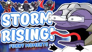Overwatch - THE #1 STORM RISING PLAYER (Funny Moments)