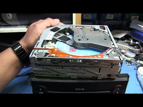 TWB #5 - Let's fix it! Jammed In-dash Ford 6 CD Changer Repair