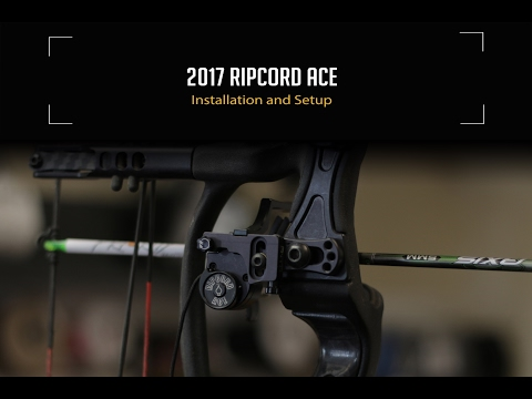 2017 Ripcord Ace Installation and Setup