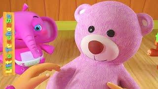 Teddy Bear Song | Kindergarten Cartoon Nursery Rhymes for Kids | Baby Music by Little Treehouse