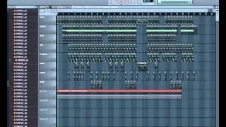 KaeN - w moich butach INSTRUMENTAL (fl studio)