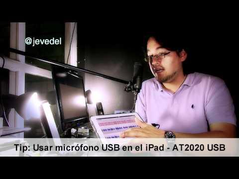 Usar Mic USB con iPad - AT2020 Usb via Camera Connector