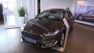 Ford Mondeo Vignale (Ford Fusion) 2016 In Depth Review Interior Exterior