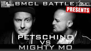 BMCL RAP BATTLE: PETSCHINO VS MIGHTY MO (BATTLEMANIA CHAMPIONSLEAGUE)