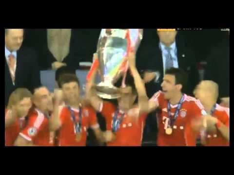 Лига Чемпионов Бавария/Bayern Munich celebrates victory in the Champions League