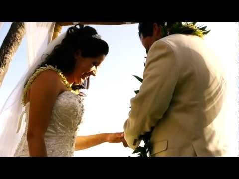 Monique & Fidel Nieto Hawaii Wedding Video