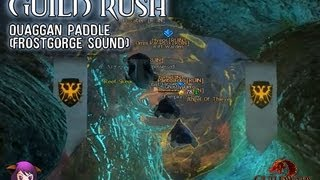 Guild Rush (Quaggan Paddle – Frostgorge Sound)