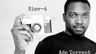 Kiev-4 vintage film camera - #Vidtember Day 3
